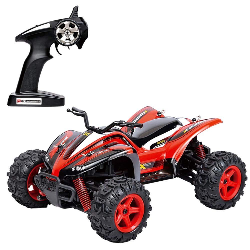 Etanby Ferngesteuertes Auto, Auto, Auto, RC-Geländewagen, Elektrische Fernbedienung für Off-Road-Monster-LKW,2,4-GHz-Funk-4WD-Auto, Spielzeug Fahrzeug mit 2 Wiederaufladbaren Batterien für Kinder Erwachsene cffdbb