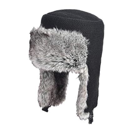 6d57c1ba zxcvb Hat Men's Winter Plus Velvet Outdoor Old Lei Feng Hat Northeast Cold  Warm Padded Flat