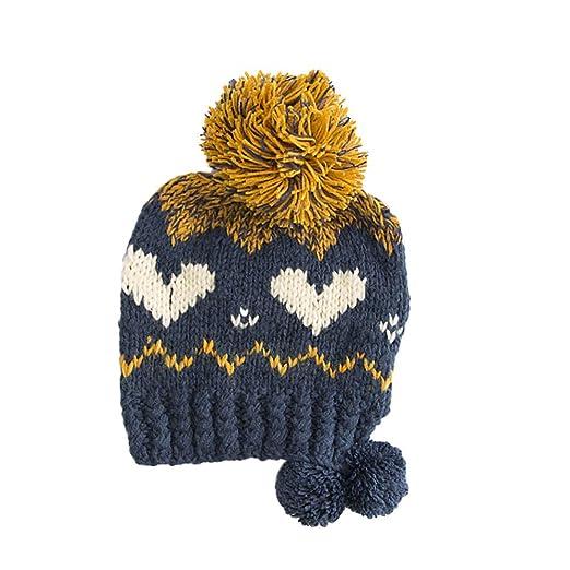 59d2100b2b8 Amazon.com  SamMoSon Warm Knit Hat