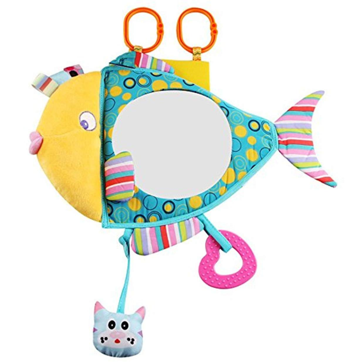 EJY Cute Fish Clip on Pram Toys Baby Pushchair Plush Toys 88_Store
