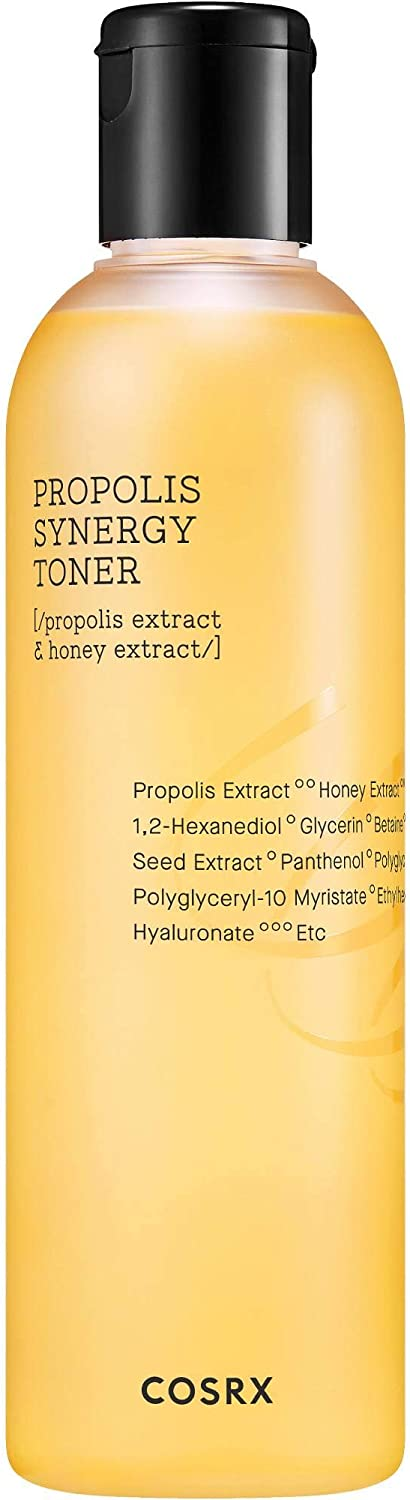 COSRX Full Fit Propolis Synergy Toner, 280ml / 9.46 fl.oz | Daily Boosting Toner with Propolis 72.6% | Korean Skin Care, Cruelty Free, Paraben Free