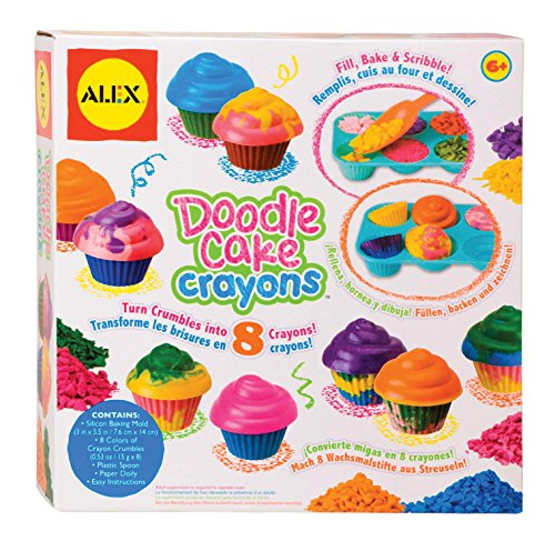 ALEX Toys Craft Make Your Own Cupcake Crayons -