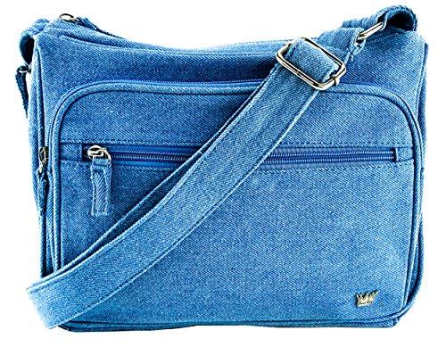 - Purse King Magnum Blue Jean Concealed Carry Handbag