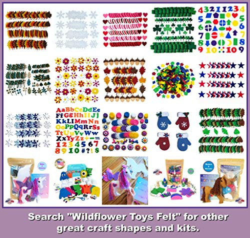 Wildflower Toys Horse Sewing Kit Kids - Felt Craft Kit Beginners ages 7+ - Makes 2 Felt Stuffed Horses by Wildflower Toys (Image #8)