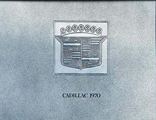 1970 Cadillac 28-page Car Sales Brochure Catalog - Fleetwood DeVille Eldorado