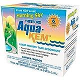 Aqua-Kem Morning Sky RV holding tank treatment - deodorant | waste digester | detergent - 8 oz, Thetford 96127  (Pack of 6)