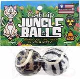 Petsport Catnip Jungle Balls 2 Pack, My Pet Supplies