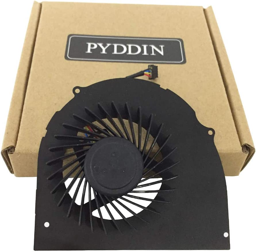 PYDDIN Laptop CPU Cooling Fan Cooler for Dell Latitude E6540 Precision M2800 072XRJ, 4-pin
