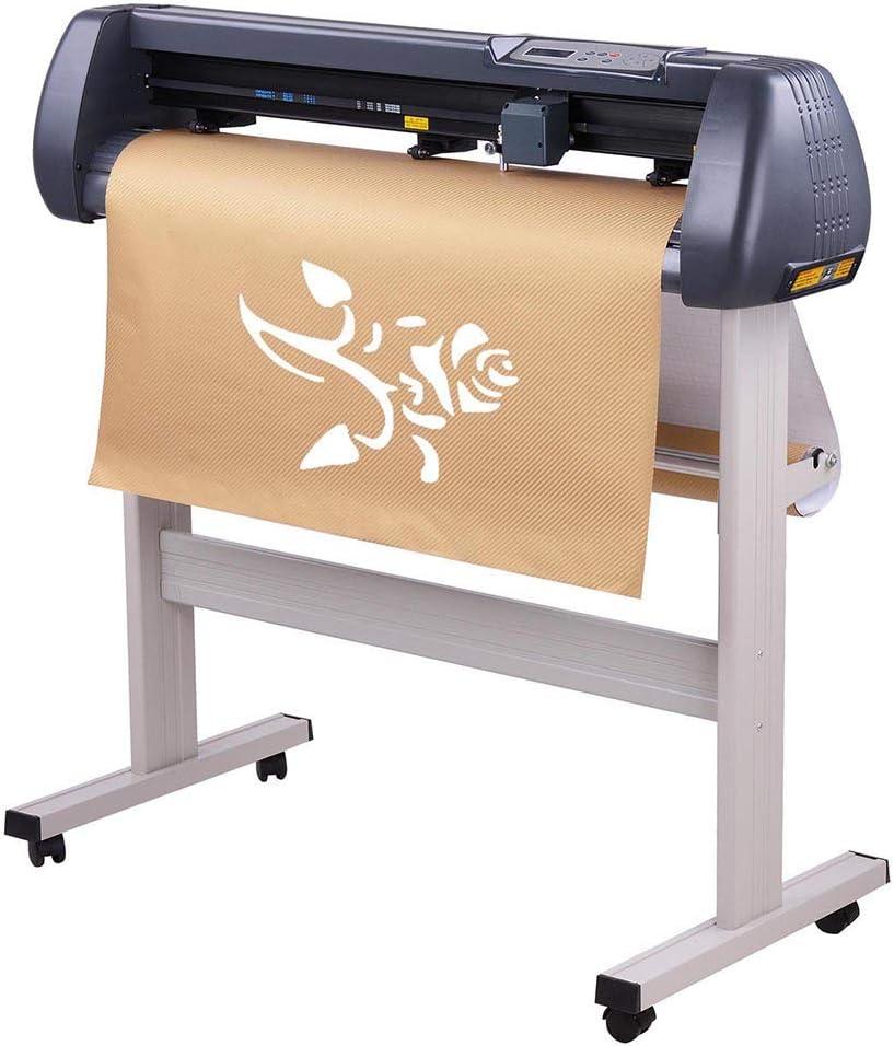 "28/"" LCD Vinyl Cutter Sign Plotter Cutting w// Signmaster Basic Software 3 Blades"