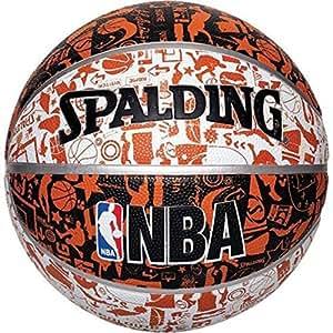 Amazon.com: Spalding NBA Graffiti Balón de baloncesto ...