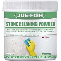 Pó Removedor De Manchas De Pedra Para Uso Doméstico E Interno - Limpe Com Segurança Todos Os Tipos De Superfícies De…