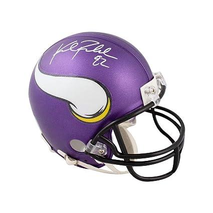 a3c62bd4d06 Kyle Rudolph Autographed Minnesota Vikings Mini Football Helmet - JSA COA