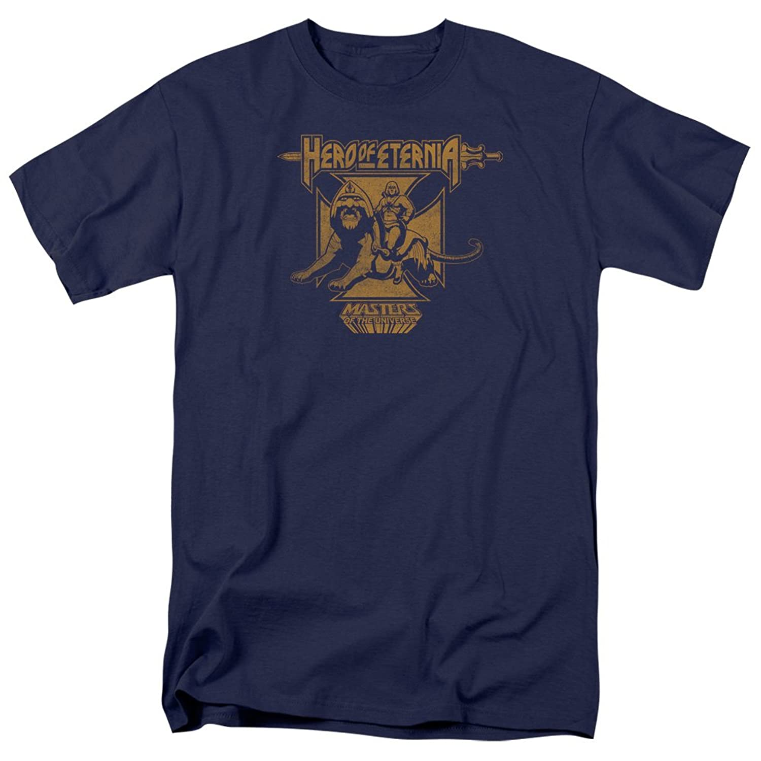 Masters Of The Universe - Mens Hero Of Eternia T-Shirt