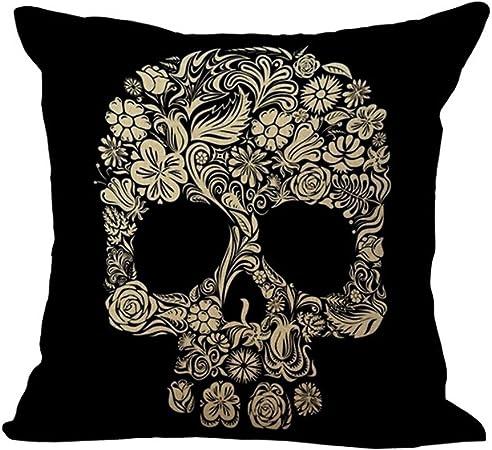 Crâne tête housses de coussin taies d/'oreiller home decor ou intérieur