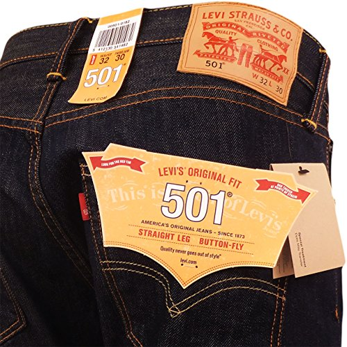 Brand Marlon Jeans 501 Customized Levis amp; Tapered Uomo 4dARdqw
