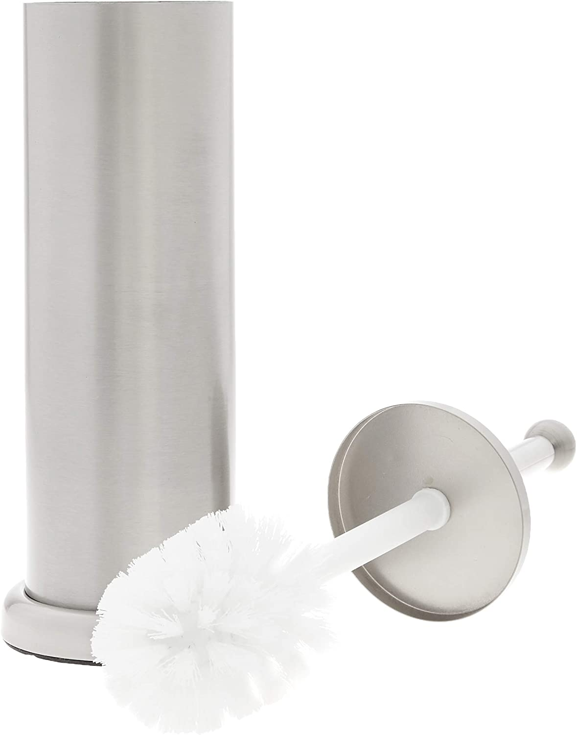 Basics Rustic Bathroom Accessory Collection - Toilet Brush Holder, Small: Home & Kitchen