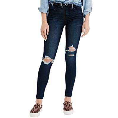 American Eagle Womens 1954998 Ne(x) t Level High-Waisted Jegging, Intensely Dark at Women's Jeans store