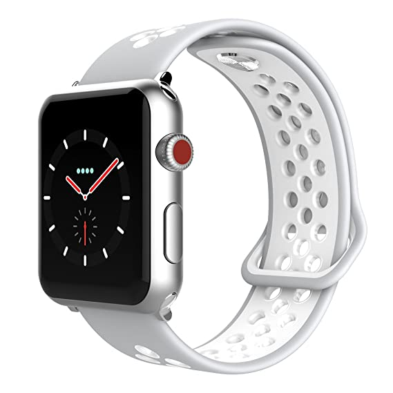Amazon.com: SIXRARI Compatible for Apple Watch Band 38mm ...