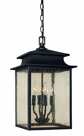World Imports 9108 42 Sutton Collection 4 Light Hanging Outdoor