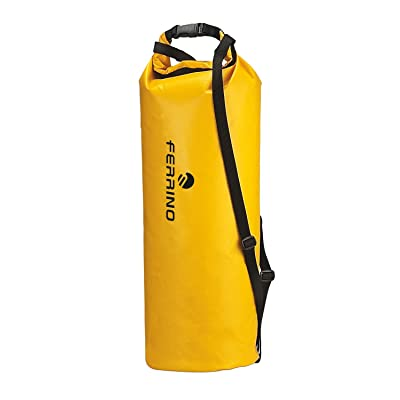 Ferrino Aquastop 70-Litre X-Large Dry Bag (Yellow)