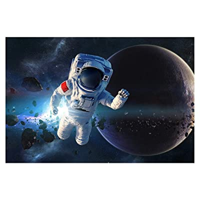 1000 Piece Puzzles for Adults Panzisun Jigsaw Puzzle for Adults and Families Anti Dementia Space Planets Illustrated Art Game Unique Cut Interlocking Pieces Game Interesting Toys Personalized Gift (A): Toys & Games