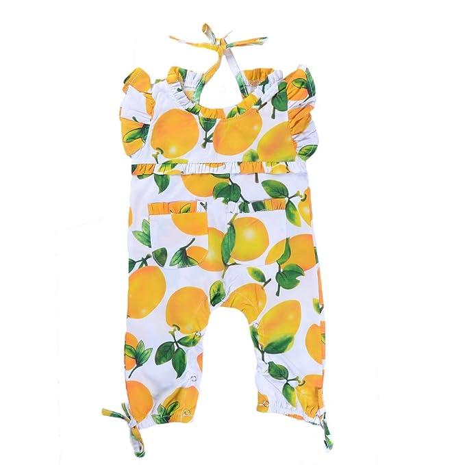 Amazon.com: Babywow - Mono para bebé, diseño de frutas con ...