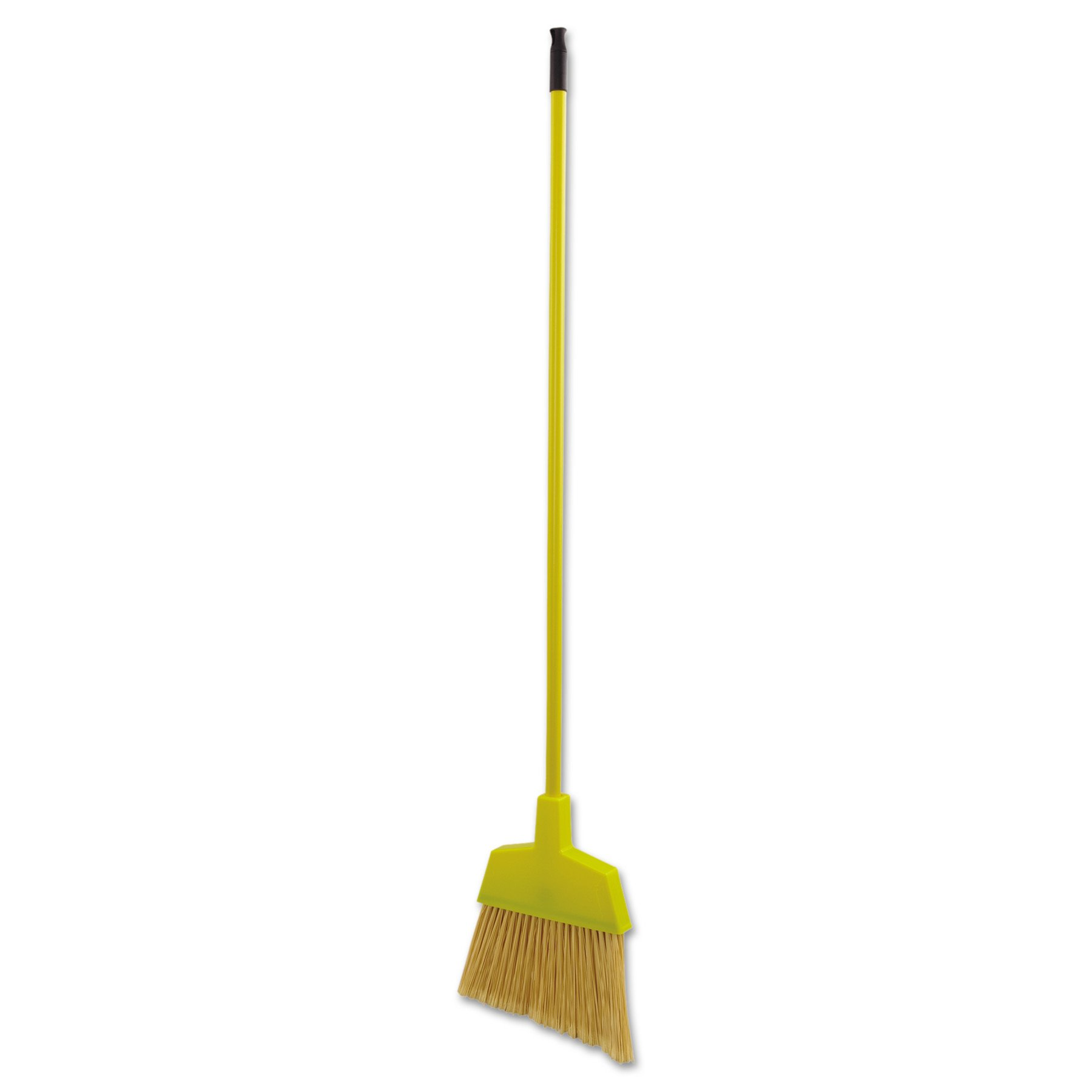 Boardwalk BWK932M Poly Bristle Angler Broom, 53'' Handle, Yellow (Case of 12) by Unisan (Image #2)