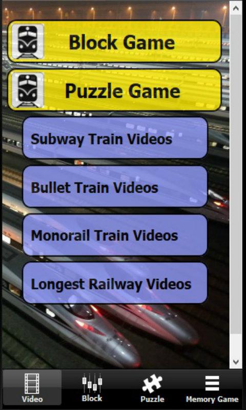 Subway trains puzzle game appstore para android for Lista de precios subway