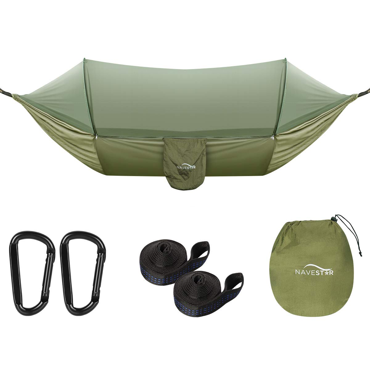 Pop-Up Double Hammock with Bug net for Outdoors