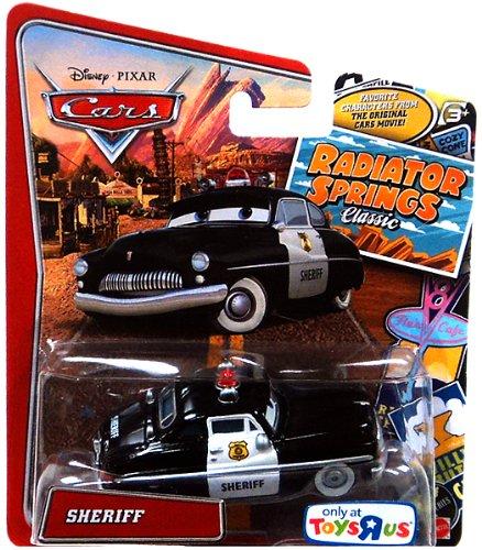 Amazon Com Disney Pixar Cars Radiator Springs Classic Sheriff