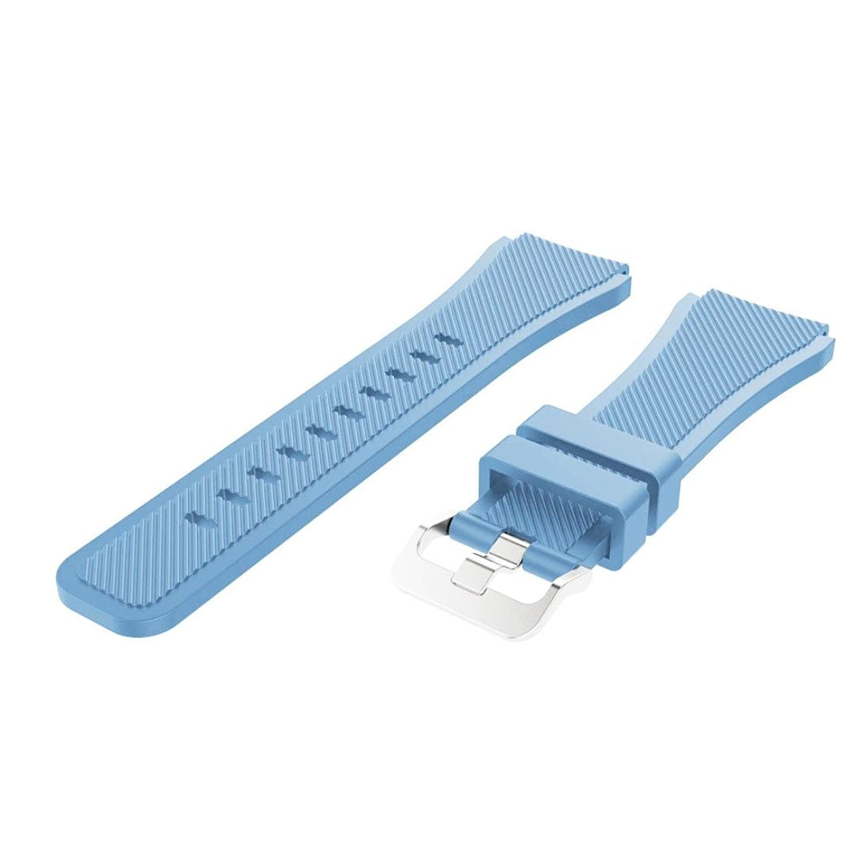 becoler交換用時計バンドストラップfor Samsung Gear s3クラシック As show ライトブルー  ライトブルー B0796S3LYB