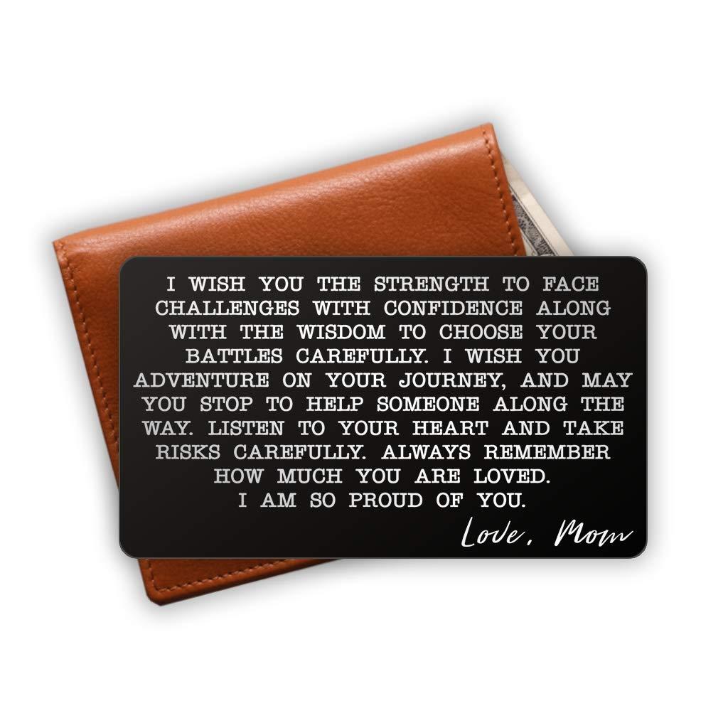 Amazon.com: Inserto de tarjeta de billetera de acero ...