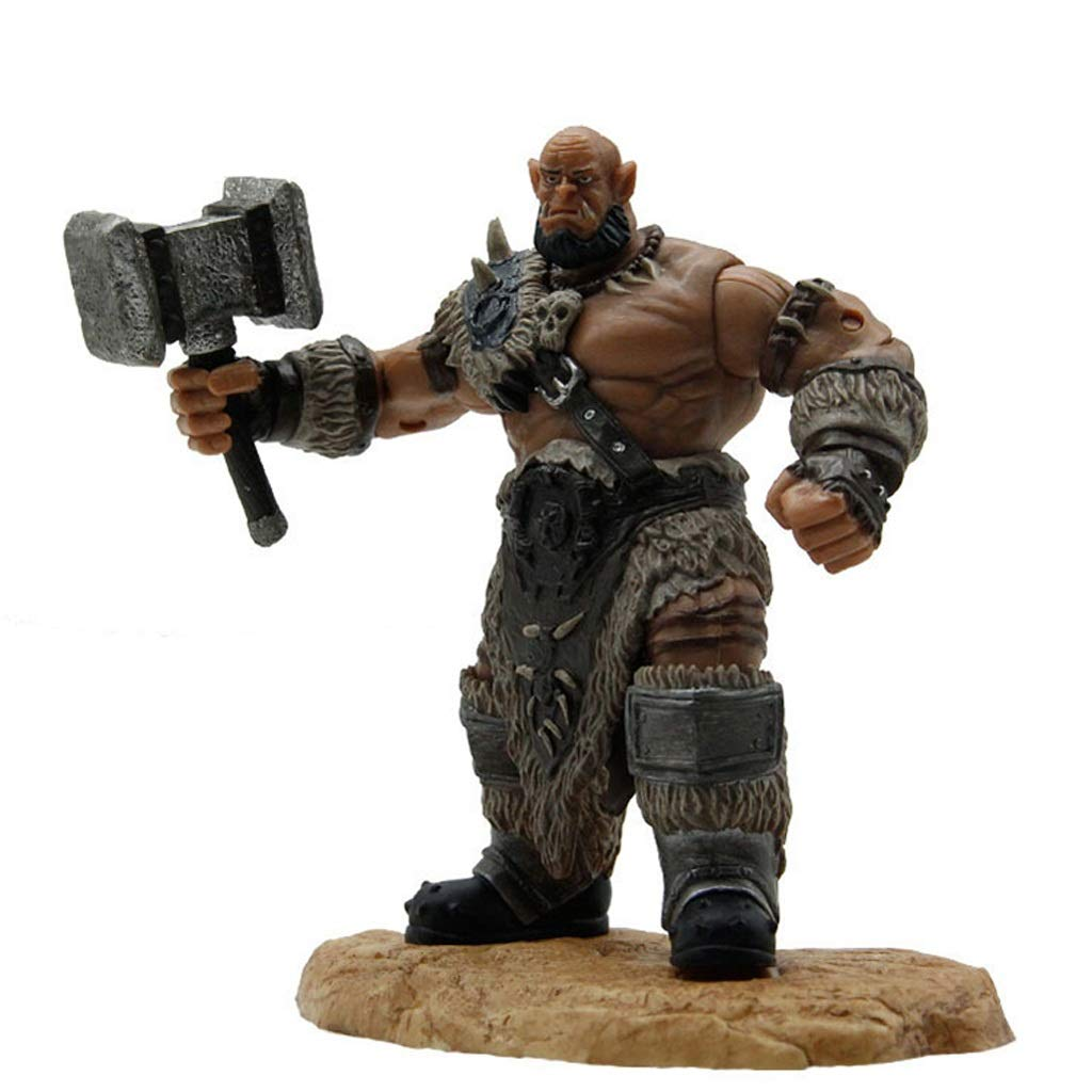 HTDZDX Warcraft Toy Model Resin Character Modello Ferocious Giant Science Fiction Anime Cartoon Toy (colore   B)