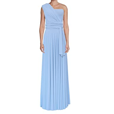149a1ab4c23 E K Infinity dress Long bridesmaid gown Convertible wedding multiway skirt  Plus size wrap clothing