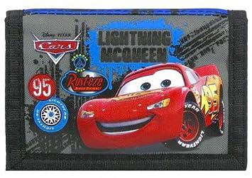 Cartera de monedero Wallet Disney PIXAR Cars para niños: Amazon.es: Equipaje