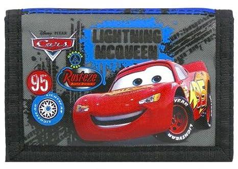 Cartera de monedero Wallet Disney PIXAR Cars para niños ...