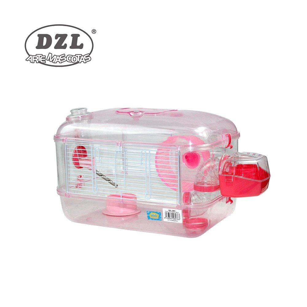 DZL Jaula para Hamster de plástico Duro, caseta Bebedero comedero Rueda Todo Incluido (1 Piso, 2 Piso, 3 Piso) (1 Piso, Persa): Amazon.es: Productos para ...