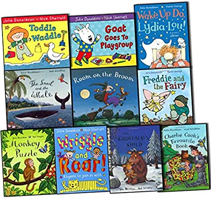 Julia Donaldson Collection 10 Books Pack Set The Snail and the Whale, Room o...: Amazon.es: Julia Donaldson: Libros