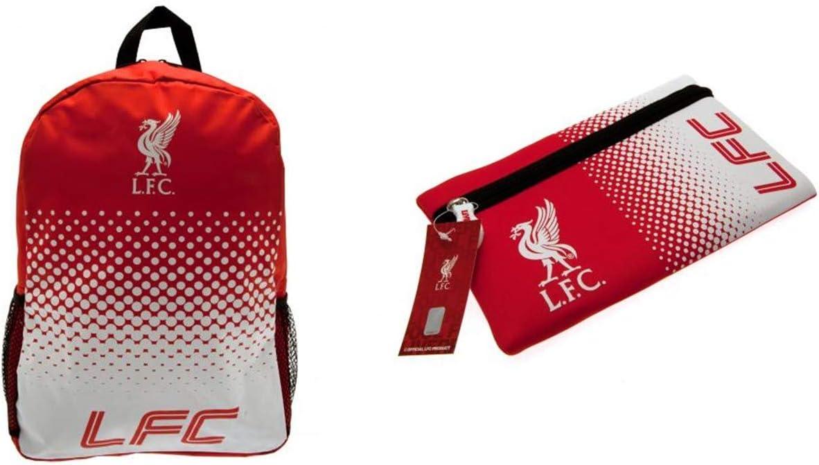 L.F.C Liverpool F.C. - Mochila y Estuche para lápices, diseño del Liverpool FC: Amazon.es: Deportes y aire libre