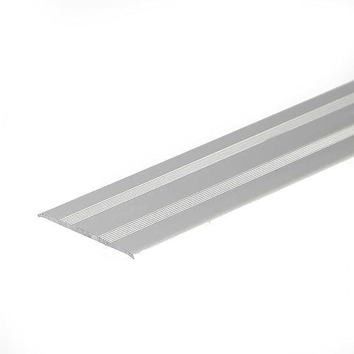 SELF ADHESIVE ANODISED ALUMINIUM DOOR FLOOR BAR EDGE TRIM THRESHOLD PROFILE  930mm X 35mm A08