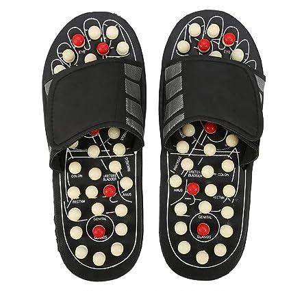 9e8d40bbf8ff9 Pantofole Per Massaggio Ai Piedi Sandali Per Calzature Massaggiatore Per  Terapia Di Agopuntura (Colore