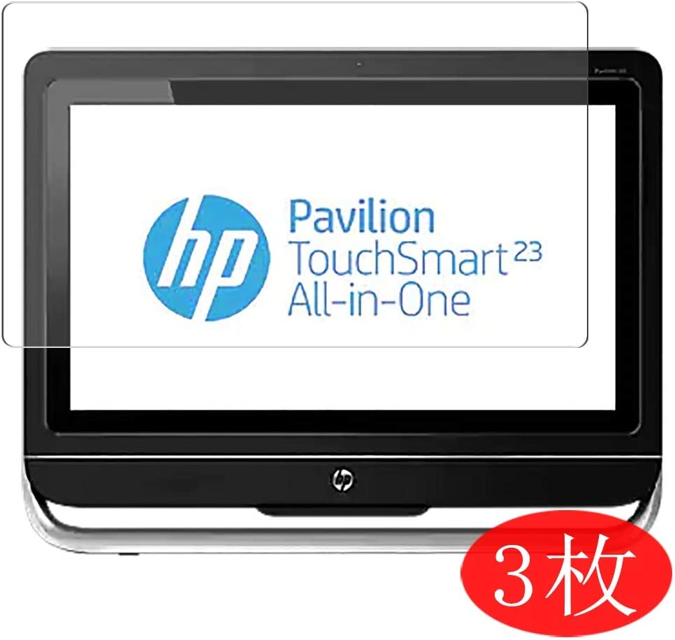 【3 Pack】 Synvy Screen Protector for HP Pavilion TouchSmart 23-f200 All-in-One AIO / f261 / f260xt 23