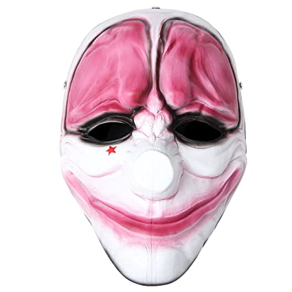 820773df51 Payday 2 the Heist Hoxton Mask Halloween Mask Costume Props Replica  Collection  Amazon.co.uk  Kitchen   Home