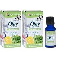 La Casa Aromas Aceite aromático Concentrado 15 ml para Humidificador o Difusor de Aroma (Lemongrass, Pack de 2)