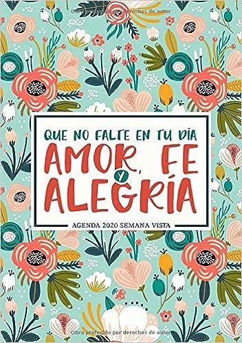 Amazon.com: Que no falte en tu día amor, fe y alegría ...