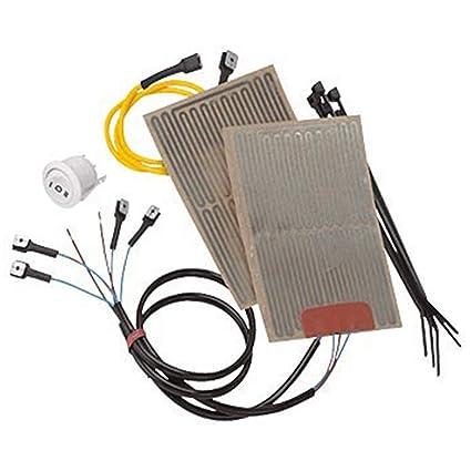 NEW OEM PURE Polaris ATV Heated Hand Grips Warmer Kit New OEM Hot Handlebar Hand Warmer Wiring Diagram on