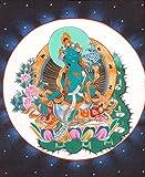 The Savior Goddess Green Tara - Tibetan Thangka Painting
