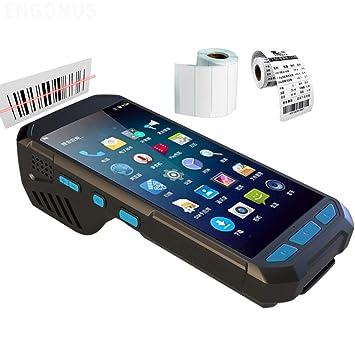 Portable Scanner Escáner Lector de código de Barras QR 1D / 2D ...
