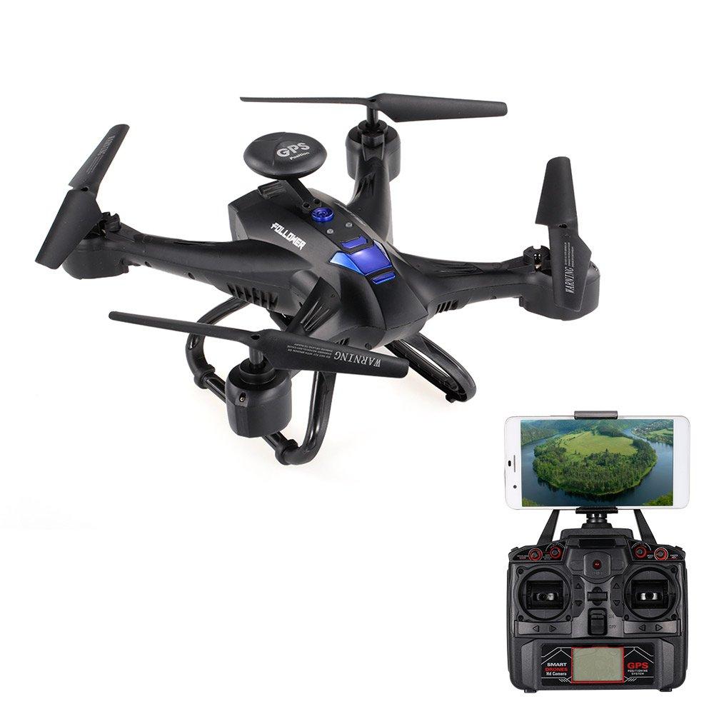 venta con alto descuento Goolsky XINLIN X191 2.4G 4CH 2.0MP HD Cámara Wifi Wifi Wifi FPV Selfie Drone GPS RTH Altura Hold RC Quadcopter  venta de ofertas