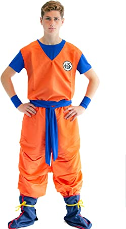 CoolChange Traje Cosplay de Son Goku, tamaño: L: Amazon.es ...